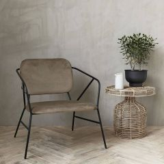 House Doctor Fauteuil Klever Bruin