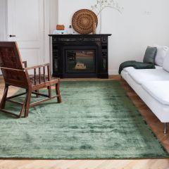 Velours Vloerkleed Groen – Velvet Loom