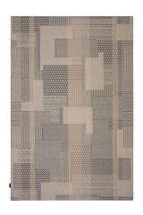 Desso Vloerkleed  Colour & Structure Block Antraciet 9523 Rechthoek - 200 x 300 cm