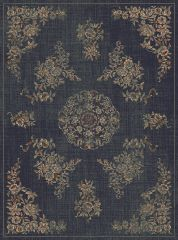 Vintage Vloerkleed Sara Donkerblauw