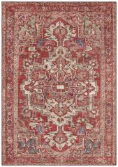 Vintage Vloerkleed Asmar orient-Rood  104018 Nouristan