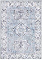 Vintage Vloerkleed Asmar brilliant-Blauw 104010 Nouristan