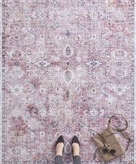 Vintage Vloerkleed Asmar raspberry-Rood 104007 Nouristan