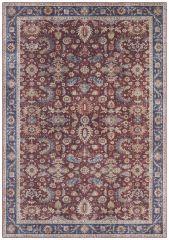Vintage Vloerkleed Asmar bordeaux-Rood 104004 Nouristan