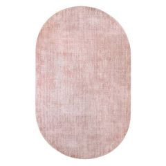 HK living vloerkleed oval viscose nude 150x240cm