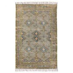 HK living vloerkleed printed overdyed rug