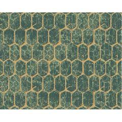 Modern Vloerkleed Art Deco Emerald 7844 Linnen Band Afwerking – Desso