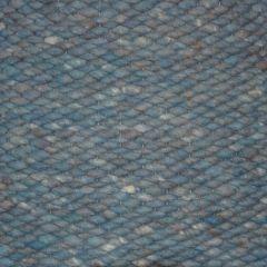 Wollen vloerkleed  Blauw Limone 153 - Perletta