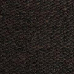 Wollen vloerkleed Antraciet Limone 368 - Perletta