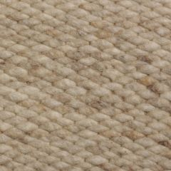 Wollen vloerkleed Beige Limone 002 - Perletta