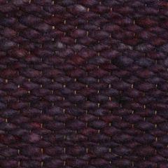 Wollen vloerkleed Paars Limone 099 - Perletta