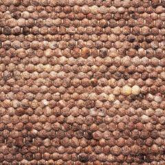 Wollen vloerkleed Greenland 225 Bruin - Brinker