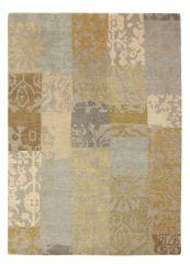 Wollen vloerkleed Yara Patchwork 194001- Brink & Campman
