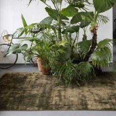 Vloerkleed Donker Groen Treviso Oliva - Perletta Carpets