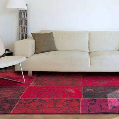 Vintage Vloerkleed Red 8014 - Louis de Poortere