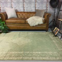 Vintage vloerkleed Groen - Infinity