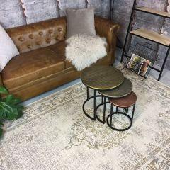 Vintage Vloerkleed Beige - Dae