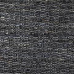 Wollen Vloerkleed Antraciet Blauw Spot 034 - Perletta