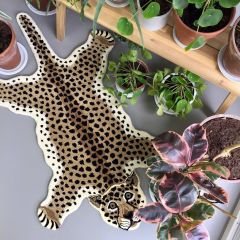 Kinderkamer Vloerkleed Luipaard - Doing Goods
