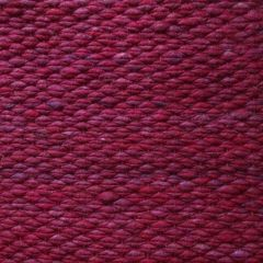 Wollen Vloerkleed Bordeaux Rood Finesse 091 - Perletta
