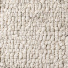 Wollen Vloerkleed Wit Grijs Boulder 003 - Perletta