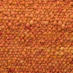 Wollen Vloerkleed Oranje Pebbles 022 - Perletta