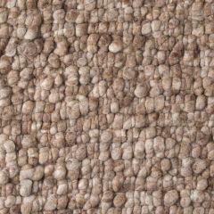 Wollen Vloerkleed Licht Bruin Boulder 004 - Perletta