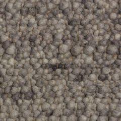 Wollen Vloerkleed Licht Grijs Pebbles 033 - Perletta