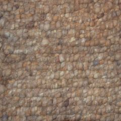 Wollen Vloerkleed Bruin Boulder 162 - Perletta