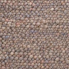 Wollen Vloerkleed Grijs Bruin Pebbles 371 - Perletta