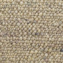 Wollen Vloerkleed Beige Pebbles 374 - Perletta