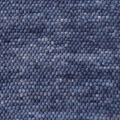 Wollen Vloerkleed Blauw Neon 350 - Perletta