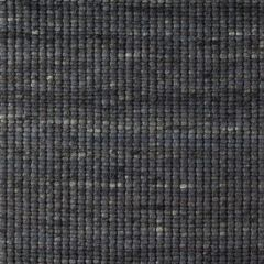 Wollen Vloerkleed Antraciet Blauw Bitts 034 - Perletta