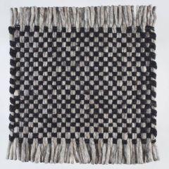 Wollen Kleed Zwart Doppio 239 - Perletta