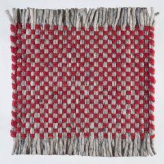 Wollen Kleed Rood Doppio 319 - Perletta
