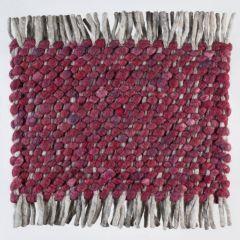 Wollen tapijt Bordeaux Rood Garno 091 - Perletta