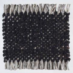 Wollen Tapijt Zwart Garno 239 - Perletta