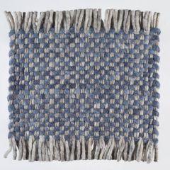 Vloerkleed Wol Blauw Solo 350 – Perletta