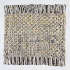 Vloerkleed Wol Beige Solo 374 – Perletta