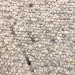 Wollen vloerkleed Marina 28 Licht Grijs - Brinker