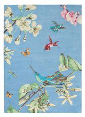 Vloerkleed Blauw Hummingbird - Wedgwood