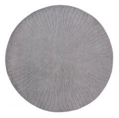 Vloerkleed Grijs Folia Rond - Wedgwood