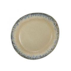 hkliving ceramic 70's side plate: bark
