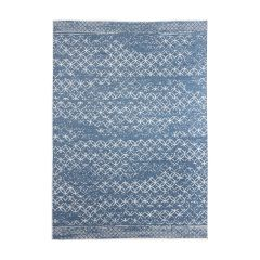 Buitenkleed Circle Blauw - Dubbelzijdig - Eva Interior-200 x 290 cm - (L)