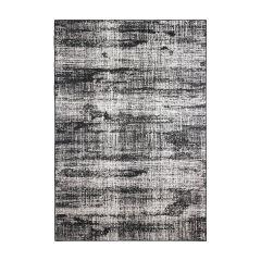 Buitenkleed Vintage Zwart - Dubbelzijdig - Eva Interior-200 x 290 cm - (L)