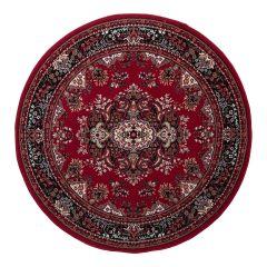 Rond Vintage vloerkleed Nain Perzisch Rood-200 Ø - (L)