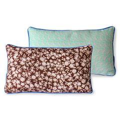 Hkliving Doris for hkliving: printed cushion brown (35x60)
