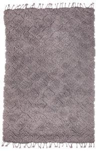 Vloerkleed Berber Wit Wol - Bodilson