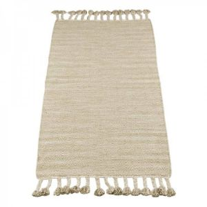 Kinder vloerkleed Kidsdepot Fringes Naturel 70x140