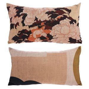 HK Living Printed cushion tokyo 35 x 60